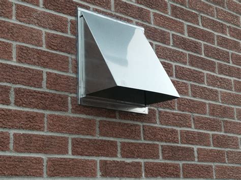 pictured    stainless steel range hood vent cover