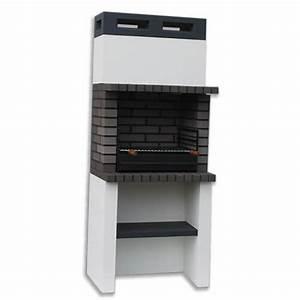 Grand Barbecue Electrique : achat grand barbecue charbon en pierre fixe de jardin ~ Melissatoandfro.com Idées de Décoration