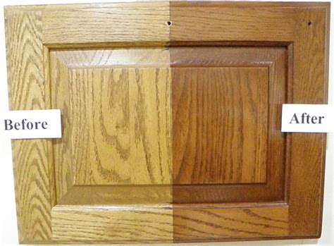 Restaining Oak Cabinets Grey by 25 Best Ideas About Staining Oak Cabinets On