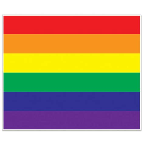 rainbow gay pride flag wall mural diversity theme party