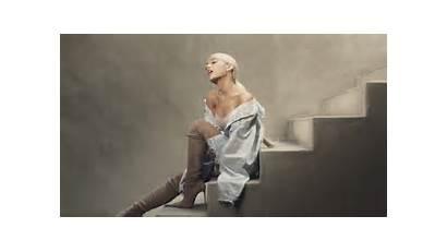 Ariana Sweetener Grande Album Photoshoot Woman Stairs