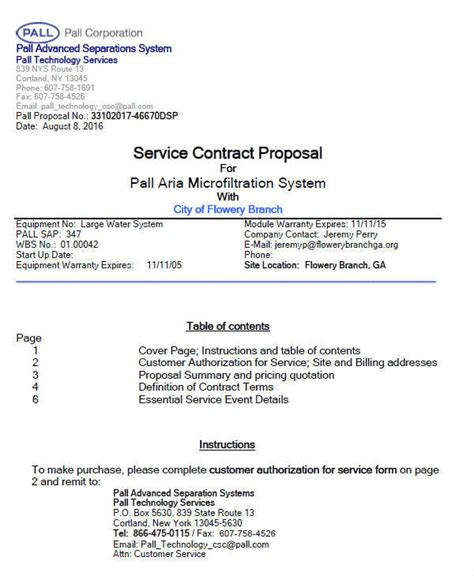 proposal contract samples templates   ms