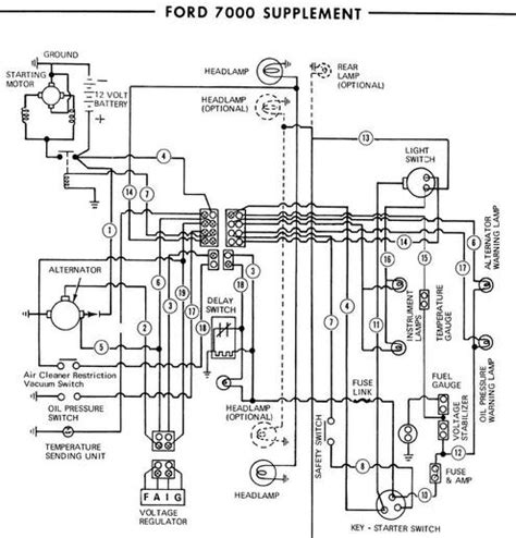 Ford 1710 Wiring Diagram by Ford 5000 Tractor Parts Diagram Automotive Parts Diagram