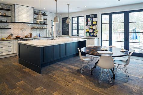Reclaimed Wood Countertop   Transitional   kitchen   Van