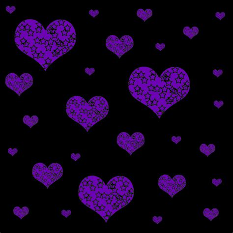Animated Glitter Wallpaper - glittery purple background backgrounds 187 hearts 187