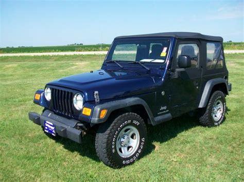 2006 jeep wrangler 4 door sell used 2006 jeep wrangler se sport utility 2 door 2 4l