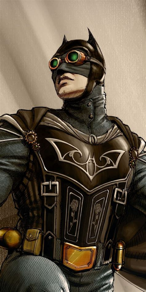 dreaded wallpaper steampunk batman superhero