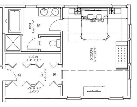 master bedroom addition floor plan bath walk house plans