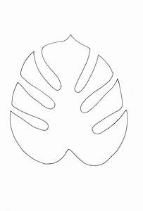 Monstera-outline.jpg (3072×4560) | Printables and Designs ...