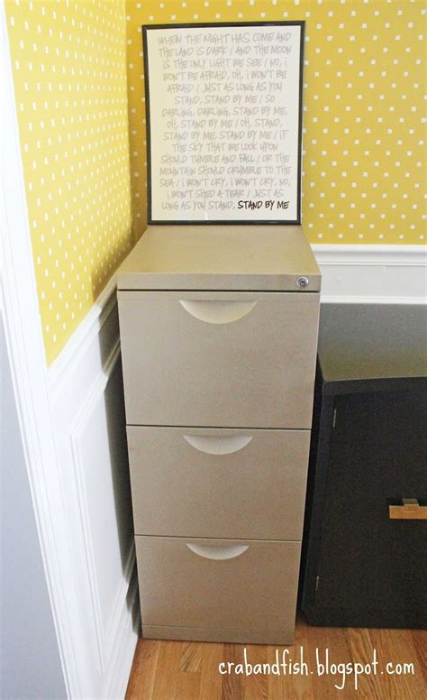 Ikea Erik File Cabinet Hack by Spray Painted Ikea Erik File Cabinet Ikea
