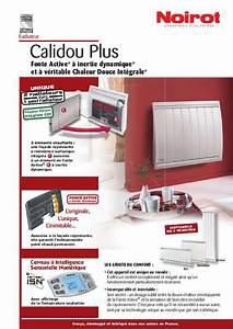 Noirot Calidou Plus 2000w : mode d 39 emploi noirot calidou plus radiateur lectrique ~ Edinachiropracticcenter.com Idées de Décoration