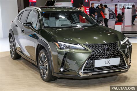 klims lexus ux crossover previewed  malaysia