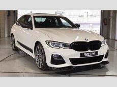 2019 BMW 3 Series With M Performance Parts Poses For The