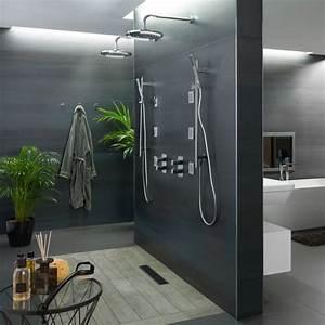 Modele Salle De Bain Avec Douche Italienne : mod le salle de bain avec douche l italienne id es ~ Premium-room.com Idées de Décoration