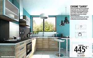 Poignée Meuble Cuisine Brico Depot : cuisine brico depot cargo le blog des cuisines ~ Mglfilm.com Idées de Décoration