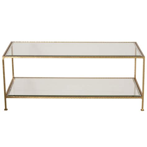 gold rectangle coffee table gold leaf rectangular coffee table mecox gardens