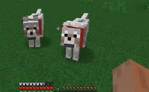 Minecraft Wolf Head Dog