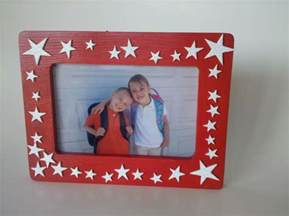 easy painted photo frame kids craft insting blogs