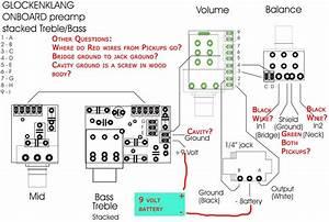 Need Help Wiring Glockenklang Preamp 3 Band 4 Knob Into
