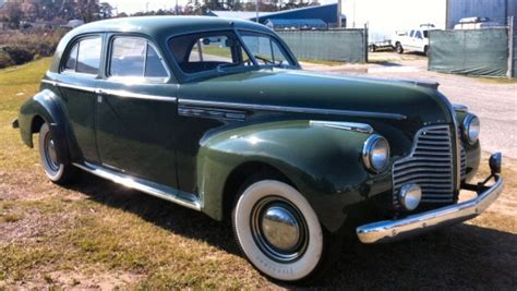 1940 Buick Sedan by 1940 Buick Roadmaster 70 Four Door Sedan
