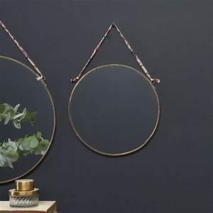 Miroir Rond Laiton : miroir kiko rond en laiton nkuku 7 la boutique de lodge ~ Teatrodelosmanantiales.com Idées de Décoration