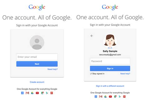 Gmail Quietly Rolls New Login Screen