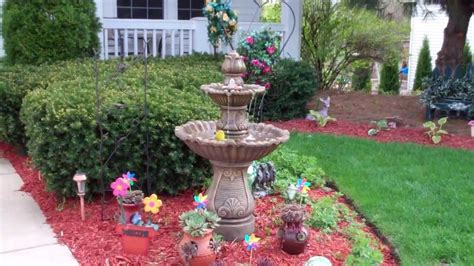 2013 Front Yard Fountain