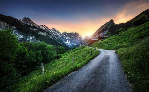 presetpro hdr photography sunset  switzerland