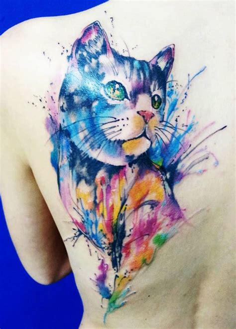 charming watercolor animal tattoo designs amazing