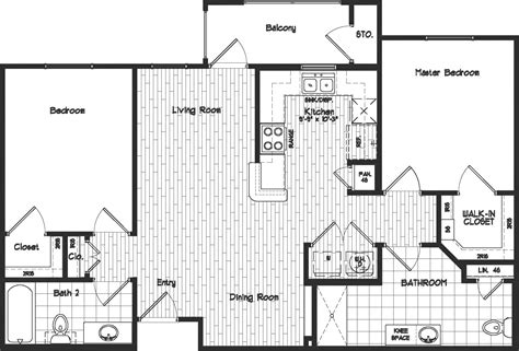 The 14 Best 2 Bedroom 2 Bath Floor Plans Home Plans