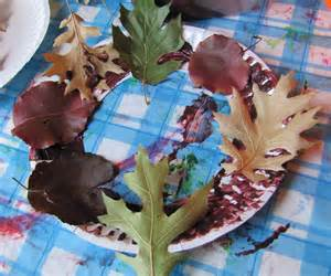Fall Art Projects with Leaves