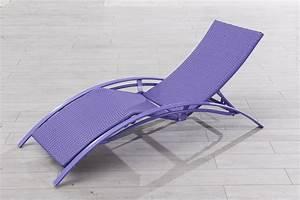 Chaise Longue Aluminium : chaise longue ~ Teatrodelosmanantiales.com Idées de Décoration