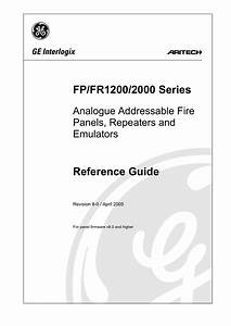 Fp  Fr1200  2000 Series Reference Guide