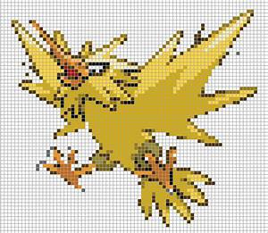Pokemon from the Generation 3 Series. Placed in grid ...