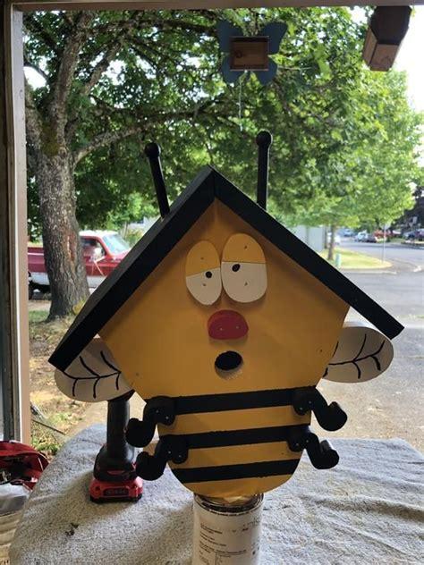 bumble bee etsy birdhouse projects bird house kits