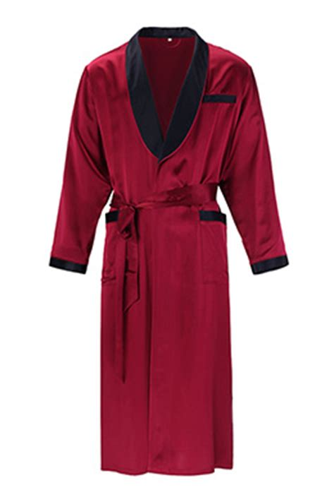 robe de chambre homme smooth silk robes for and