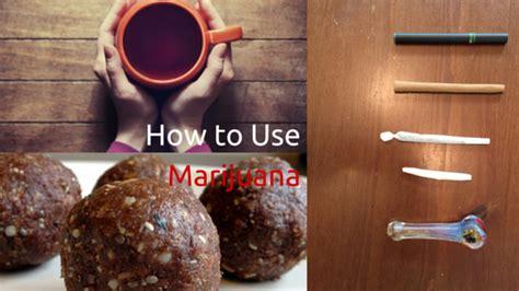How To Use Marijuana Greenito