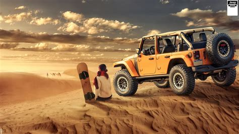 Jeep Wrangler Desert Off road Wallpaper | HD Car ...