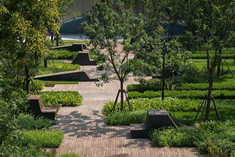 landscaping garden beiqijia technology business district beijing china martha schwartz partners