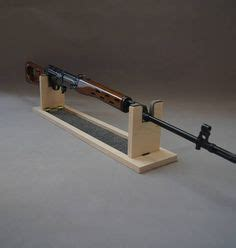 homemade gun cleaning stand plans projects  guns