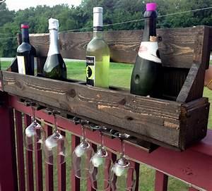 100, Reclaimed, Wood, Pallet, Wine, Rack