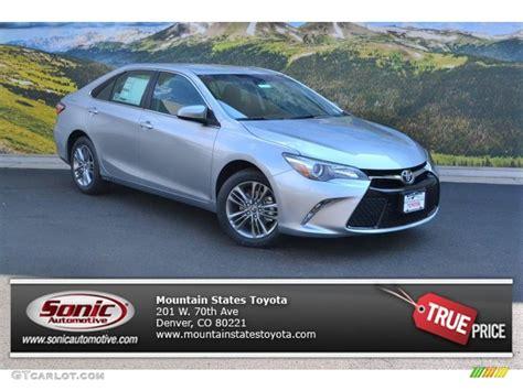 2016 Celestial Silver Metallic Toyota Camry Se #106758793