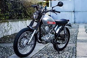 Yamaha Sr250 Custom By Officina Serrao D U2019aquino  U2013 Bikebound