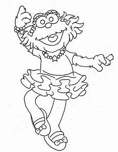 Sesame Street Coloring Pages: The All Character ...