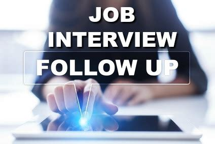 interview follow  letter