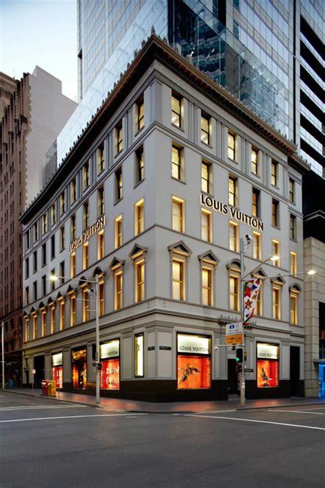 louis vuitton george street maison sydney retail design