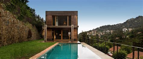 noem casas de madera modernas casas prefabricadas de diseno
