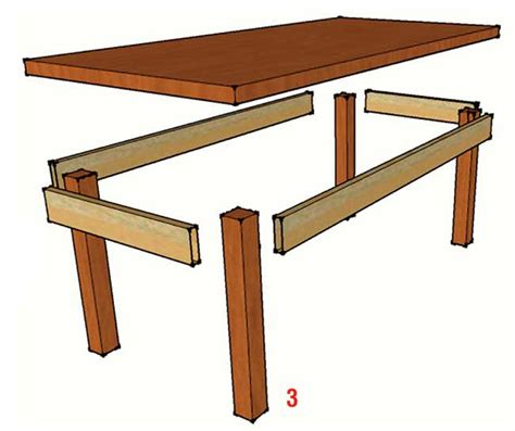 progetto scrivania fai da te tavolo taverna fai da te costruzione illustrata passo