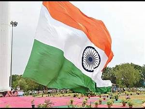 Biggest National Flag In India at Hyderabad - YouTube