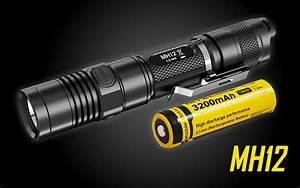 Nitecore Mh12 1000 Lumen Usb Rechargeable Led Flashlight